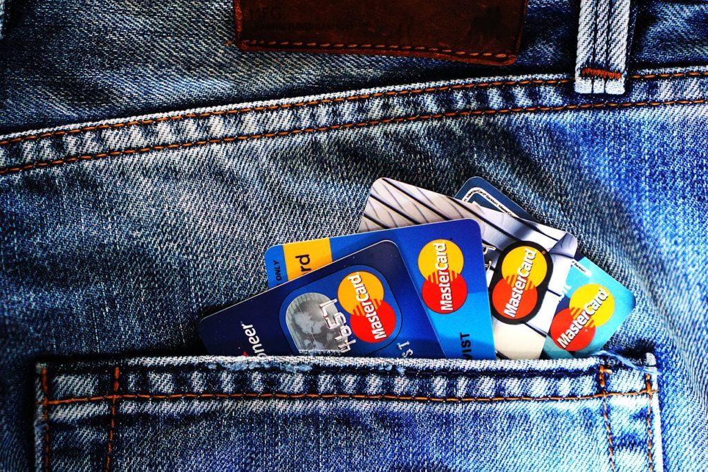 Kreditkarte zum Reisen