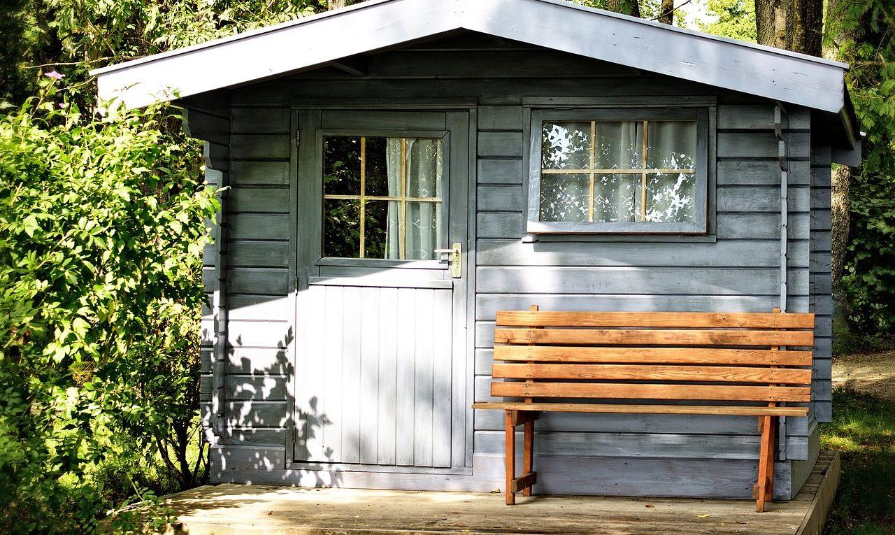 Kunststoff Gartenhaus